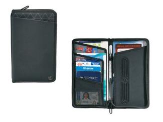 elleven™ Traverse RFID Travel Wallet (Vinyl) CDDP-0011-26-BK