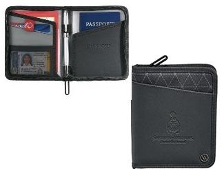 RFID Passport Wallet (Vinyl) CDDP-0011-28-BLK