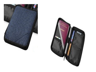 Navigator Passport wallet NAVY / BLACK (840D Polyester) CDDP-12001401