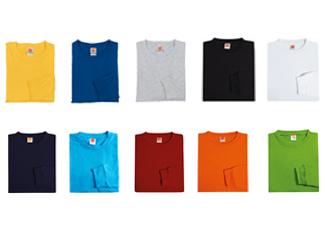 100% Cotton T-SHIRT Unisex Long Sleeve CDO-CT54