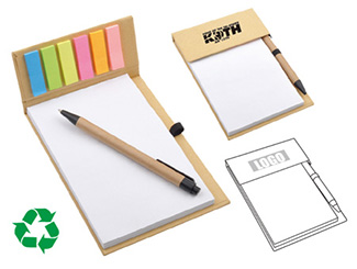 Desk Memo Pad with Pen CD-UT1239I