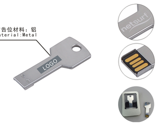 Key shape USB Flash Drive CD-UT3306I