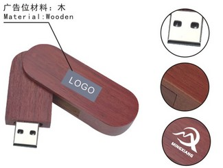 Wooden USB Flash Drive CD-UT3310I