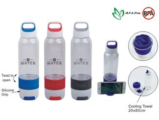 Sport Bottle w/Cooling Towel CD-UT4057I
