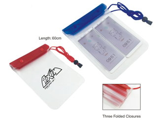 Waterproof Pouch with Lanyard CD-UT4561I