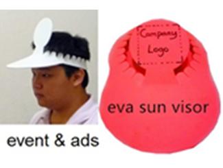 Eva Sun Visor CDHG--CLW0092