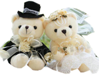 Wedding Bears (Pair) CDHG-PBF0022