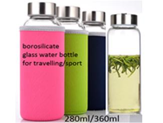 Glass Water Bottle CDHG-PGT0038