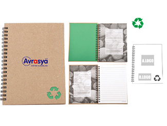 Recycled Stone Paper Notebook CD-UT1026I