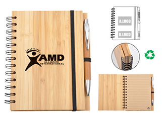 ECO Bamboo Notebook CD-UT1032I
