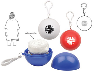 Pocket Ball Rain Poncho CD-UT3843I