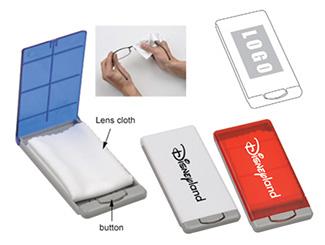 Pocket Glasses Cleaner CD-UT3847I-B