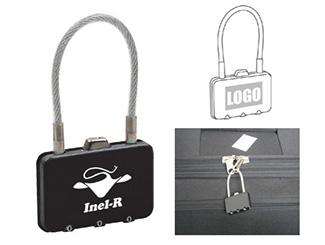 Rectangle Metal Coded Lock CD-UT3892I