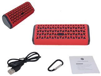Portable Bluetooth Speaker w/ FM Radio CDN-BT-4792