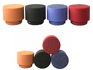 Fabric Net Mini Bluetooth Speaker CDN-BT-4804