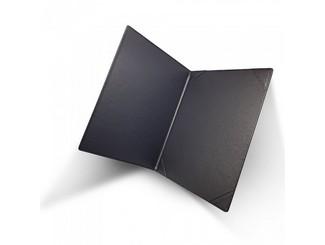 A4 BLACK CERTIFICATE HOLDER USING 4-CORNER SLOTS CDN-C04
