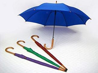 Real wood curve handle long umbrella CDHK-LL509W