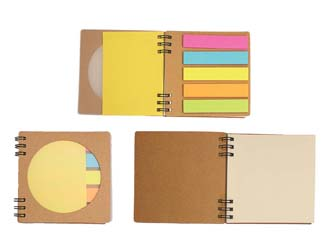 Eco-friendly Notebook with Memopad CDN-NB-7584