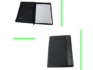 A4 Size Zipper Portfolio with Notepad CDN-P-2042