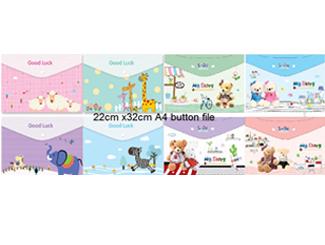 A4 Button Folder CDHG-PGT0046