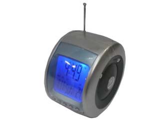 Radio Clock with Blue Lite CDN-R-820