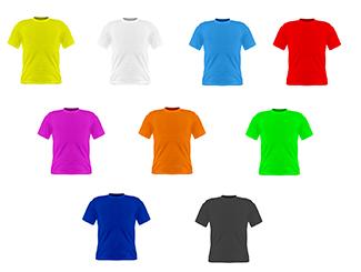 Dri-Fit Round Neck Tee Shirt, 145GSM (Active Wear) CDN-DFT-0990