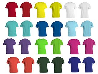100% Supima Premium Cotton Round Neck Tee Shirt, 145GSM (Casual Wear)  CDN-SPT-1010